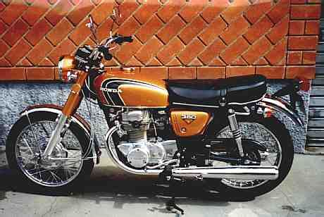 honda cb350 k4 early 70s motos cl 225 ssicas 70