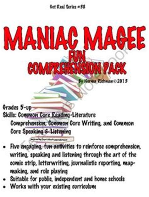 maniac magee book report 1000 images about maniac magee on maniac