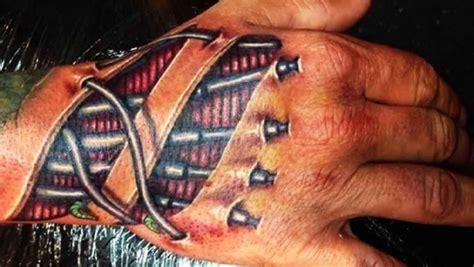 3d tattoo hand video biomechanics 3d hand tattoo ideas tattoo designs