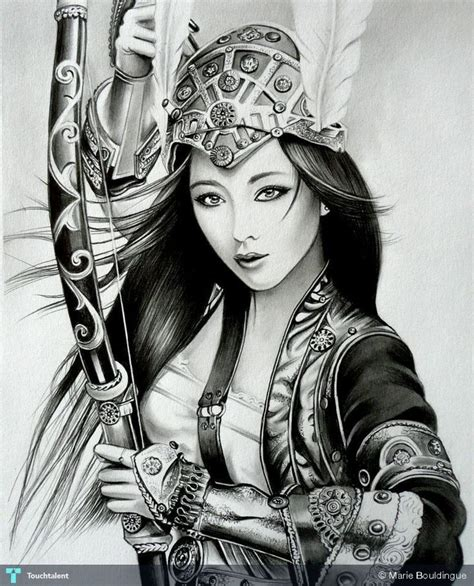 female samurai painting www imgkid com the image kid