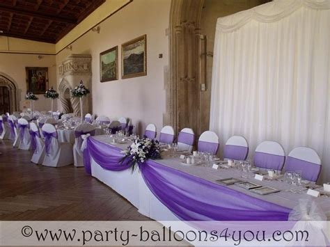 Purple and Turquoise Wedding Reception   the wedding