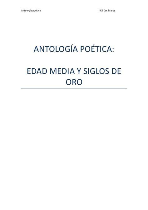 antologia poetica 2 8420618632 antolog 237 a po 233 tica