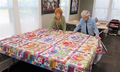 Cutting Edge Quilts by In South Minneapolis Quilters Work On The Cutting Edge Minnesota Radio News