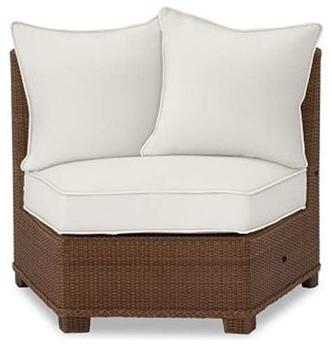 outdoor lounge chair cushion slipcovers palmetto all weather wicker rounded armless chair cushion