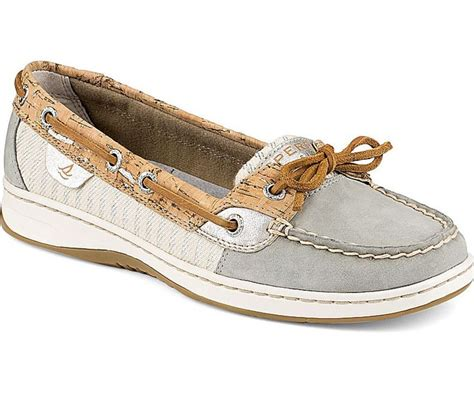 sperry top sider s angelfish cork slip on boat shoes