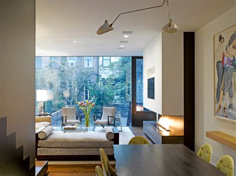 Sunroom Living Room Designs Nyc Townhouse Transitional Living Room New York By