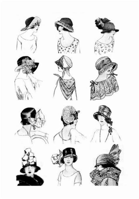 history of hairstyles chart historia mody lata 20 moda kt 243 ra odbiła się na