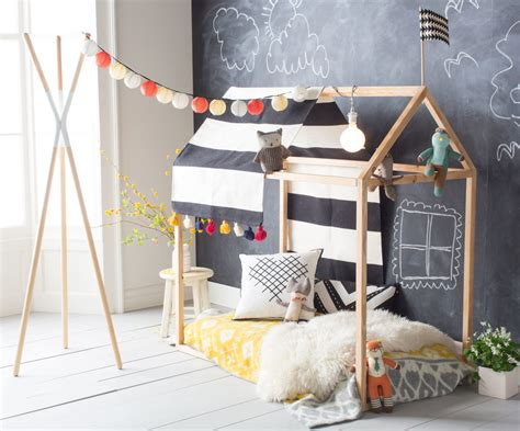 Childrens Bedroom Rugs playhouse bed frame diy the hanna blog