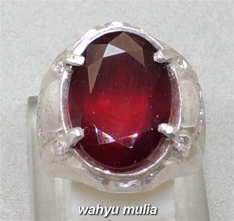 Cincin Garnet batu cincin permata hessonite garnet asli kode 928
