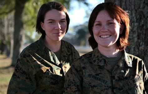 marine corps femal hair quot female marines give up hair for locks for love quot the