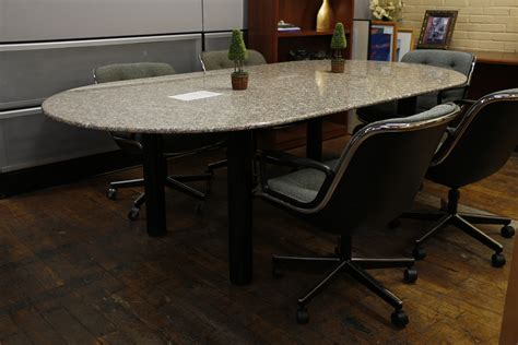 4 X 8 Conference Table Custom 8 X 4 Granite Racetrack Conference Table Peartree Office Furniture