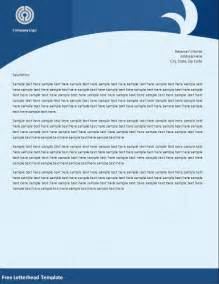 Templates For Word Free by 32 Word Letterhead Templates Free Sles Exles