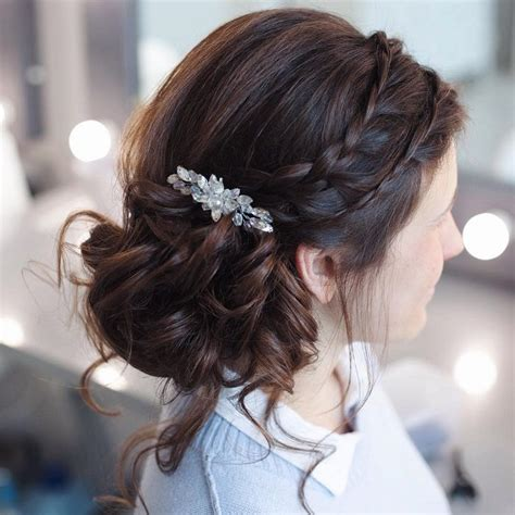 Modern Wedding Updo Hairstyles by Wedding Updos With Braids Modern Take On Braids Updos