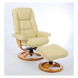 fauteuil relax cuir ivoire nirvana rennaise