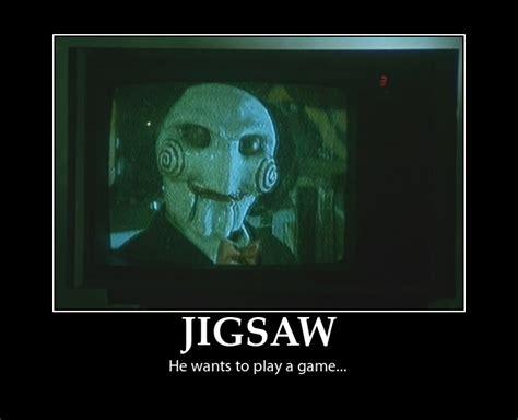 Saw Doll Meme - jigsaw meme