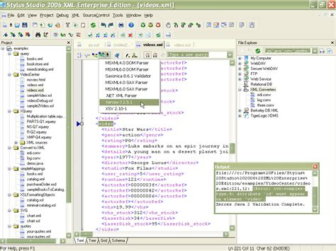 xsd pattern validation online stylus studio xml schema validator screenshot