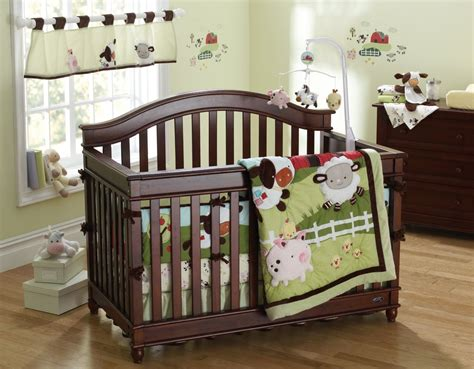 Baby Bedding Farm Theme Fisher Price Farm Friends Crib Bedding Baby Bedding And