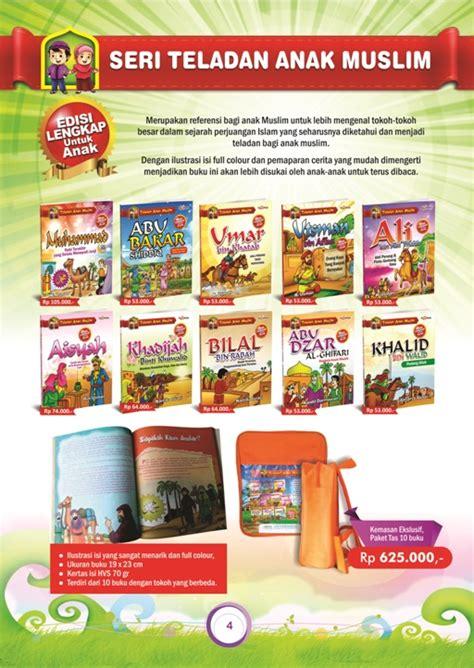 Paket Buku Anak ebook paket 10 judul seri teladan anak muslim