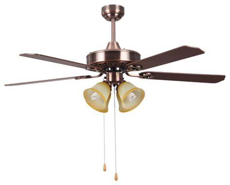 Traditional Ceiling Fan With Light Traditional Hton Bay Ceiling Fan Lights 52 Quot Modern