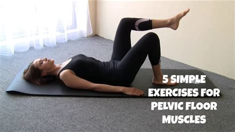pilates exercises  pelvic floor muscles youtube