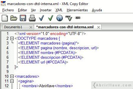 dtd in xml tutorial pdf c 243 mo validar con xml copy editor un documento xml asociado