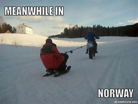Norway Meme - meanwhile in norway macha spreads joy