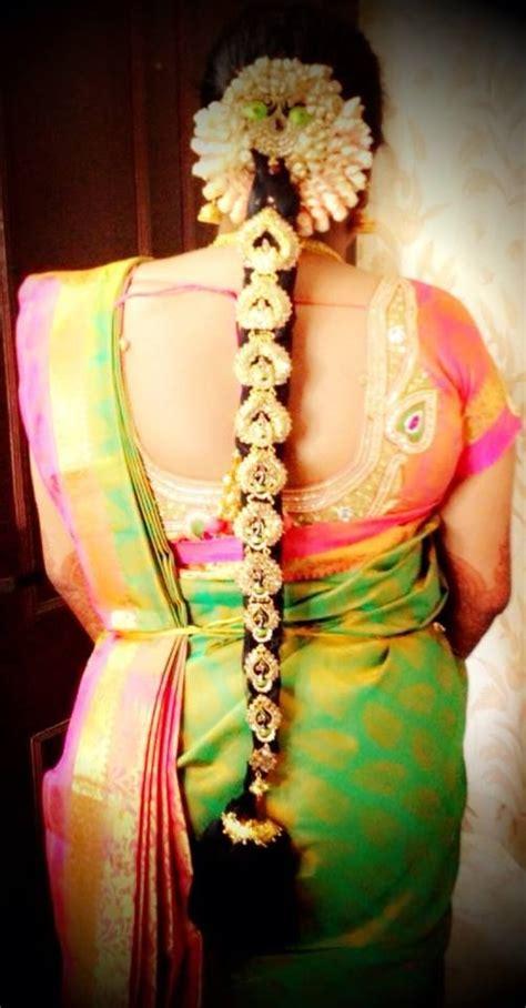 bridal hairstyles south indian south indian bride bridal hairstyle elegant saree