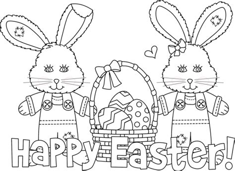 Easter Color Pages Printable by Printable Happy Easter Coloring Pages Craftshady