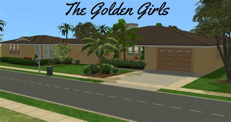 the golden girls house mod the sims the golden girls house no cc vintage