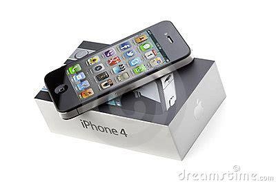 Iphone Time Black 120000 Box iphone 4 box editorial stock photo image 24204293
