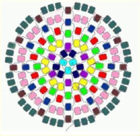 learn how to bead american circular flat peyote stitch seed bead tutorials seed