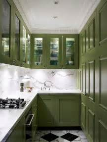 Green Kitchen Cabinets Painted by Kitchen Cabinets The 9 Most Popular Colors To Pick From