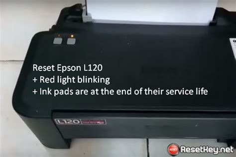 reset key for epson l220 epson l120 resetter working
