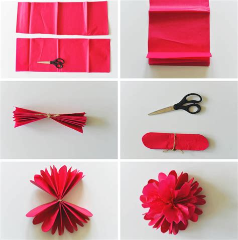 Cara Membuat Origami Bunga Dari Kertas Warna | cara membuat aneka bunga unik dari kertas krep sarungpreneur