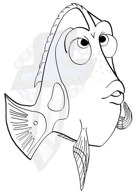 dory coloring pages to print coloring pages