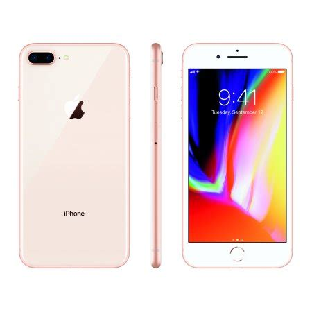 total wireless prepaid apple iphone 8 plus 64gb gold walmart