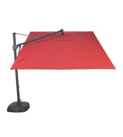 sunbrella treasure garden 10 foot square cantilever