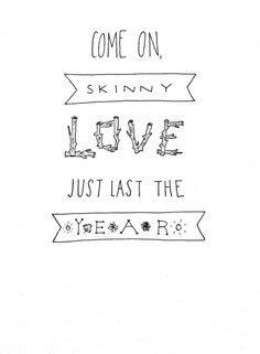 download mp3 ed sheeran skinny love skinny love on pinterest bon iver songs and ed sheeran