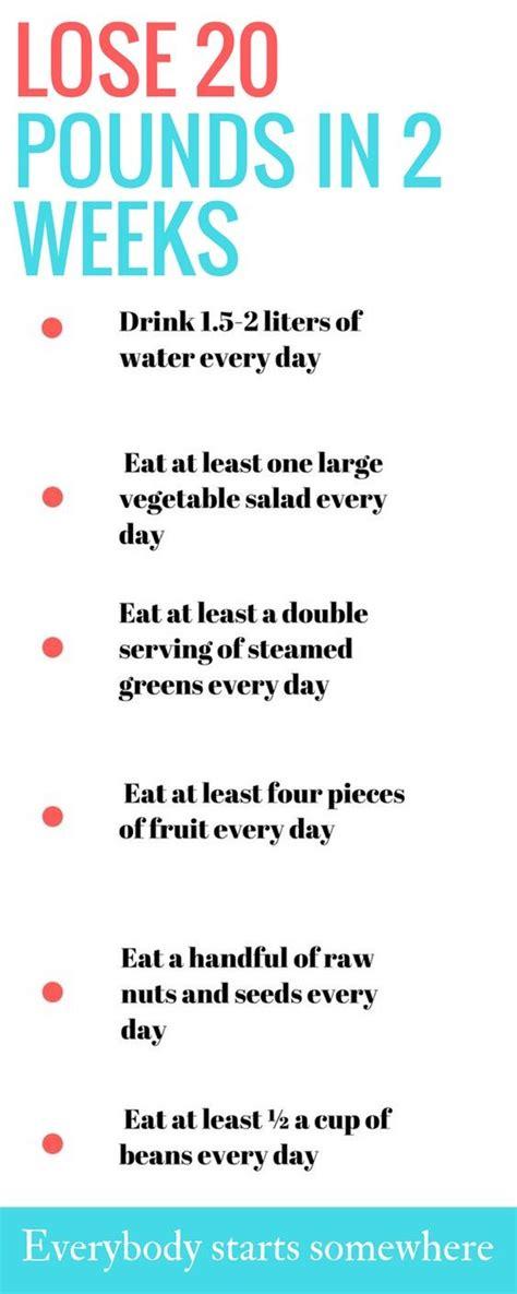 Lose 20 Pounds In 2 Weeks Detox Diet by Best 25 Healthy Ideas On