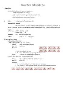 Elementary Math Lesson Plan Template by Math Lesson Plan Exle Search Results Calendar 2015