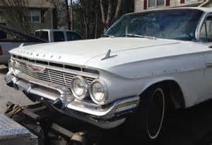 61 impala 4 door 3 speed 6 cyl condition used