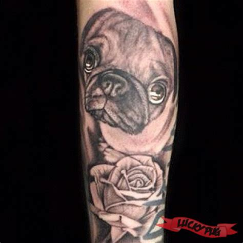 how much do pugs cost uk black and grey arm pug tattoos black realistic portrait pug tattoos