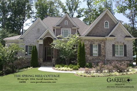 mil house plans spring mill cottage house plan house plans by garrell