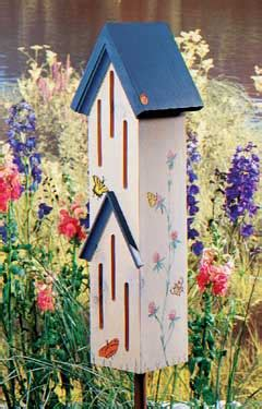 how to build a butterfly house diy garden projects garden art projects birds blooms