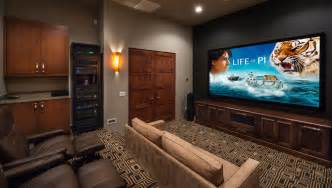 Dining Room Tray Ceiling Ideas Living Room Movie Theater Home Theater Contemporary With