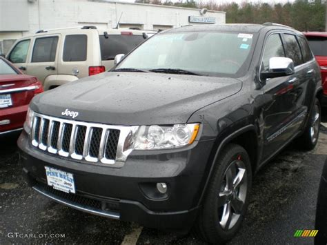 charcoal grey jeep grand cherokee 2011 dark charcoal pearl jeep grand cherokee overland 4x4