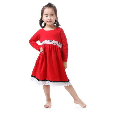 aliexpress girl clothes aliexpress com buy 2016 christmas girl clothes red full
