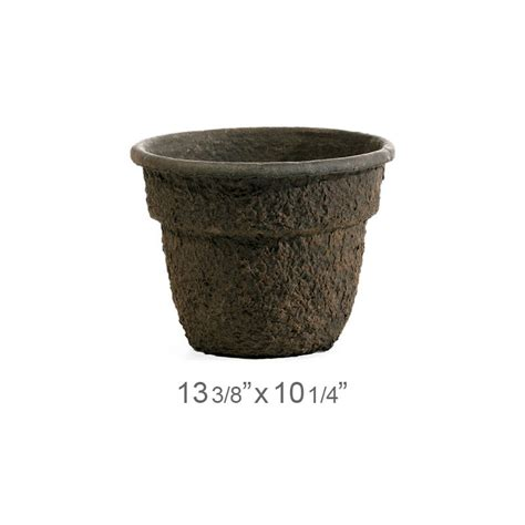 Biodegradable Planters by Western Pulp Garden Bell Planters Biodegradable Pots