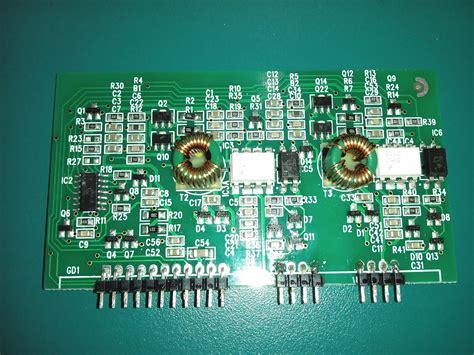 transistor igbt driver high speed half bridge mosfet igbt driver board from powertech on tindie