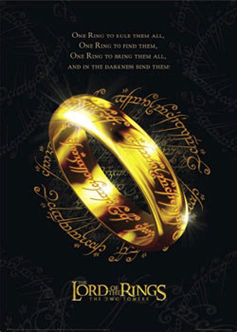 the lord of the rings poster options jrr talkien home wall lord of the rings the one ring poster sold at europosters